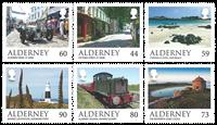 Alderney - Alderney Scenes - Mint set 6v