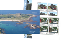 Alderney - Alderney Scenes - Mint prestige booklet