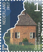 Netherlands - Beautiful Netherlands, Dommel - Mint stamp