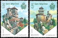 San Marino - Europa 2017 - Postfrisk sæt 2v