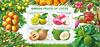 Cocos Øerne - Havens frugter - Postfrisk miniark