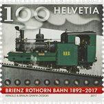 Suisse - Chemin de fer Brienz-Rothorn - Timbre neuf