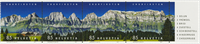 Switzerland - Churfirsten panorama - Mint set 4v