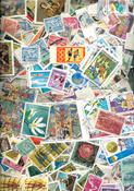 Monde Entier - 750 gr. de timbres au kilo sans papier