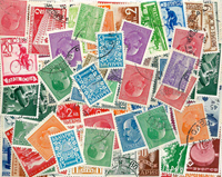 Bulgaria - Duplicate lot with old stamps