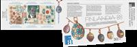 Finland - Fabergé overtrykt Finlandia 2017 - Postfrisk frimærkehæfte. Oplag kun 6.000 stk.