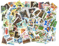 Cuba - 100 different stamps - Cancelled