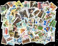 Cuba - 100 forskellige frimærker - Stemplet