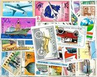 Transport - 100 forskellige frimærker