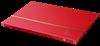 BASIC-säiliökirjat - A4 - 16 valkoista lehteä -  Punainen L4-8
