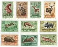 Unkari - AFA 1257-66 postituoreena