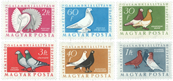 Ungarn AFA 1480-85 - Postfrisk