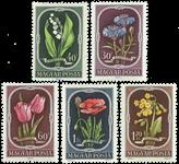 Hongrie - Timbres neufs - AFA 1185-89