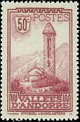 Andorre francais YT 35 Andorre francais Paysages