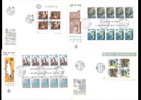 Europa CEPT frimærker på førstedagskuverter
