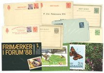 Danemark - Entiers postaux