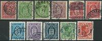 Danmark Tjeneste + SF 1871-1920