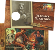 Australia - Henry Lawson - PNC / Coin Cover