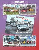 Barbades - Rallye Automobile - Bloc-feuillet neuf