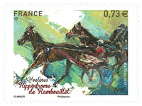 France - Hippodrome Rambouillet - Mint stamp