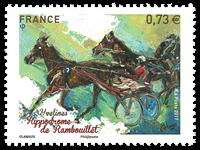 Frankrig - Hestevæddeløbsbanen Rambouillet - Postfrisk frimærke