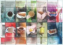 Netherlands - Dutch Culinary Delights - Mint sheetlet 10v