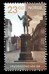 Norge - Fredrikstad 450år - Postfrisk frimærke