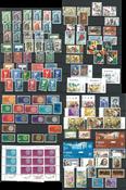 Europamærker CEPT samling - Stemplet i 3 indstiksbøger