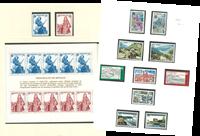 Collection de timbres Europa - 1977-85