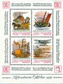 Hafnia miniark II - Postfrisk