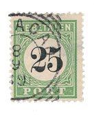 Curacao 1889 - Nr. P7 - Gebruikt