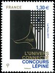 Frankrig - Lepine-konkurrence - Postfrisk frimærke