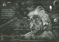 泽西岛新邮 , 爱因斯坦相对论原理,小型张