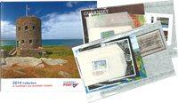 英属根西岛 新邮 - 2014年新邮年册