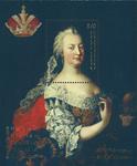 Østrig - 300-året for Maria Theresa - Postfrisk miniark