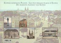 Belgique - Les belles places d'Eupen - Bloc-feuillet neuf
