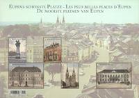 Belgique - Les belles places de Eupen - Bloc-feuillet neuf