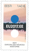 Estonia - Council of EU2017 - Mint stamp