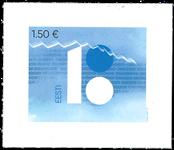 Estland - 100-året for Republikken Estland - Postfrisk frimærke