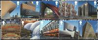 England -Legendariske bygningsværker - Postfrisk sæt 10v