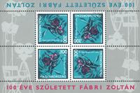 Ungarn - Fábri Zoltán ark - Ark postfrisk