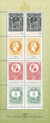 Hungary - 150 years for stamps - Mint souvenir sheet