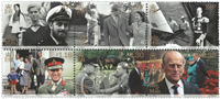 Man - Prins Philip - Postfrisk sæt 6v