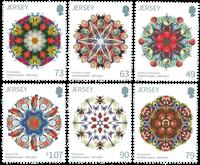 Jersey - Kaléidoscopes - Série neuve 6v