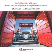 Monaco - La cité interdite 2017 - Bloc-feuillet neuf