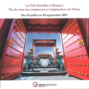 Monaco - The forbidden City in Beijing - Mint Souvenir sheet
