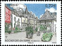 Frankrig - Rochefort en Terre - Postfrisk frimærke
