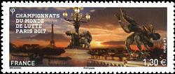 Frankrig - Brydning - Postfrisk frimærke