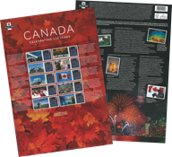 Great Britain - Canada's anniversary - Mint sheetlet