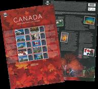 Gran Bretagna 2017 - 150° anniv. del Canada - minifoglio nuovo